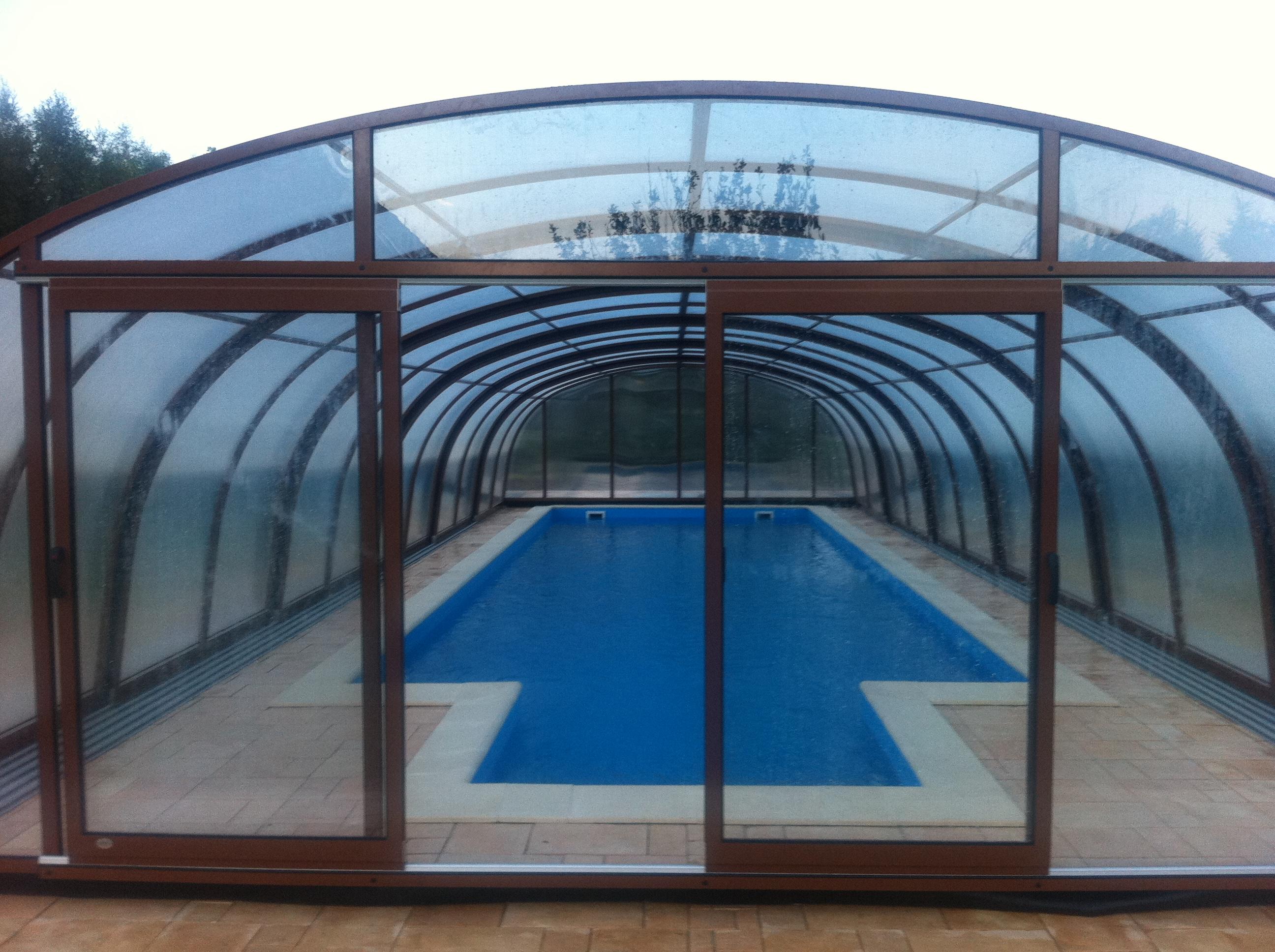 Nowoczesna architektura Zadaszenia basenowe TD84